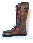 ellen's upholstery fabric bellows-tongue boot