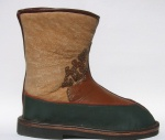 sheepskin lined center-seam boot