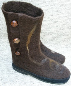wet felt bootmaking
